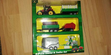 Tractoras copii cu remorcute
