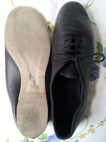 Обувки за танци №38/39-ест.кожа