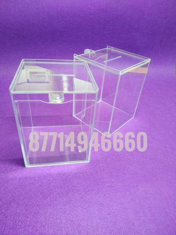 Ящики из орг.стекла. изделия из акрила