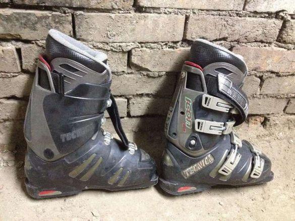 ски обувки техника
