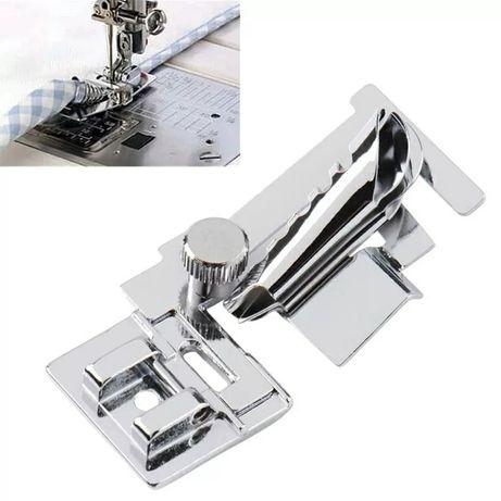 Лапки для бытовой швейной машинки для косой бейки и петельная