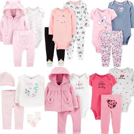 Детская одежда для девочек от 0 до 12м