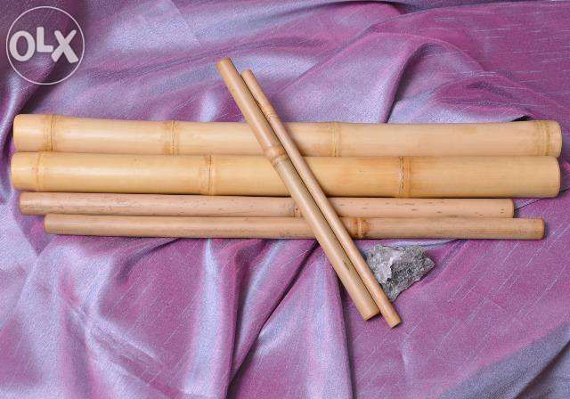 Bete de bambus kit 6 bucati pentru masaj