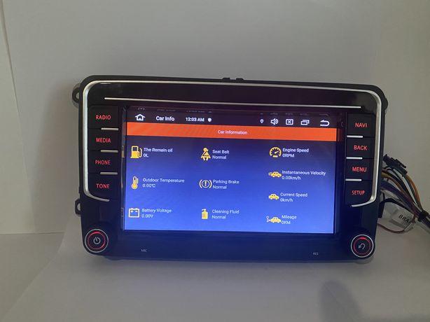 Navigatie GPS RNS 510 Android 10, 2 GB RAM , VW SEAT SKODA, Dsp