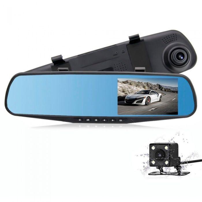 ГОРЯЧАЯ АКЦИЯ! 3в1.Зеркало видеорегистратор с камерой заднего вида.