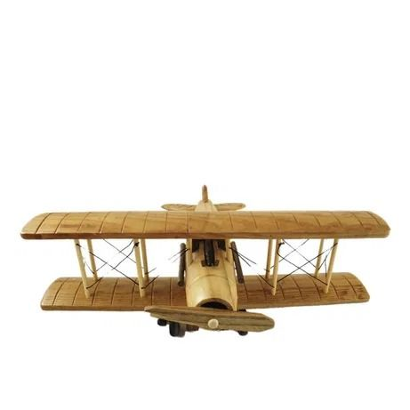 Aeroplan din lemn si sfoara,lucrat manual,28x27cm,hand made