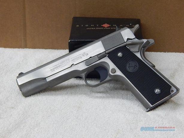 Pistol Airsoft Puternic pusca PRET IMBATABIL!! Colt (De Putere Mare)