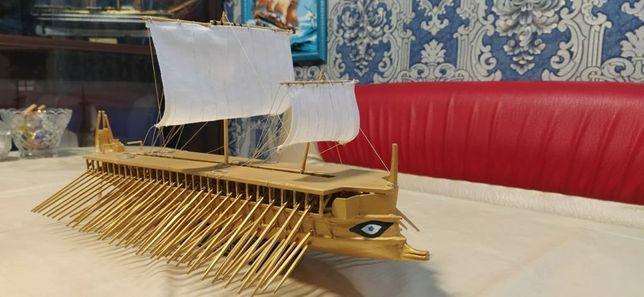 """Деревянная модель корабля """"GREEK TRIREME"""""""