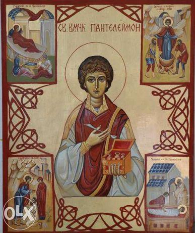 Поръчки за ръчна изработка на икони, Свети Георги и др.