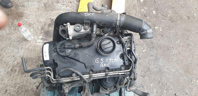 Motor Golf 5 BKC/Bloc motor / chiuloasă/Turbină/Kit ambreiaj