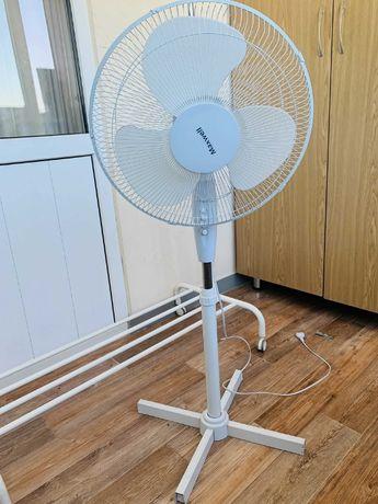 Вентилятор белый Maxwell