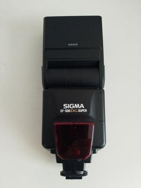 Vând blitz Sigma EF-500 DG Super