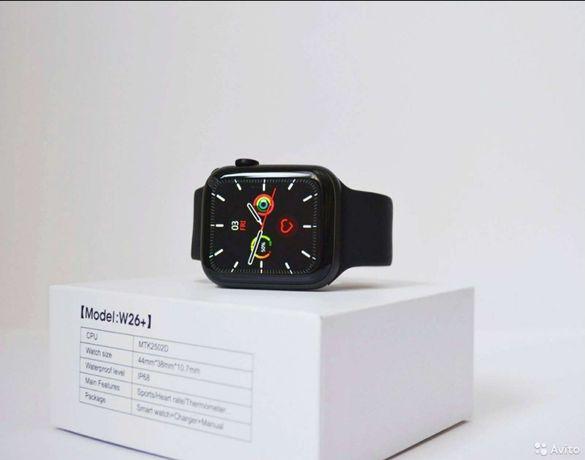 Apple watch 6. W 26+ w46 смарт часы, полный экран
