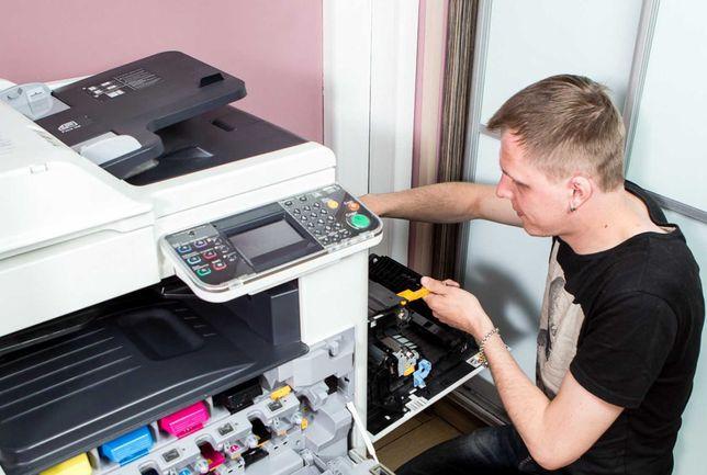 Ремонт принтеров МФУ сканеров, лазерных черно-белых цветных Мастерская