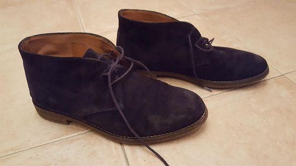 Massimo Dutti мъжки официални боти-обувки и Armani джапанки