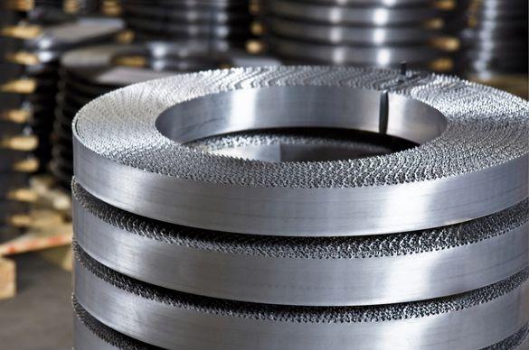 Биметални отрезни ленти за рязане на метали