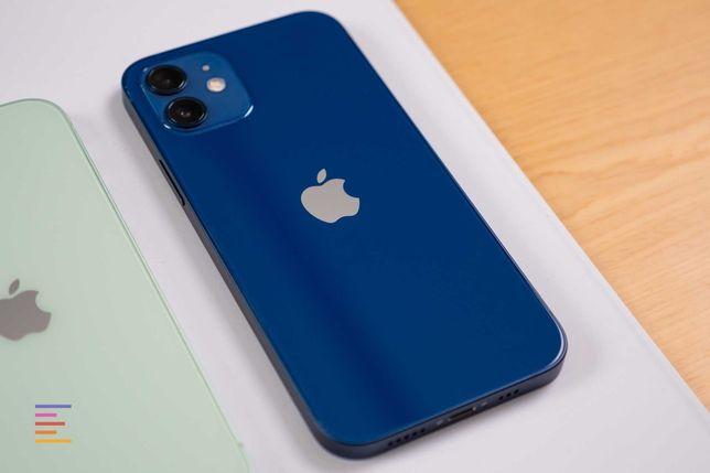 Оригинальный айфон в рассрочку Без подтверждения 12 синий 128GB