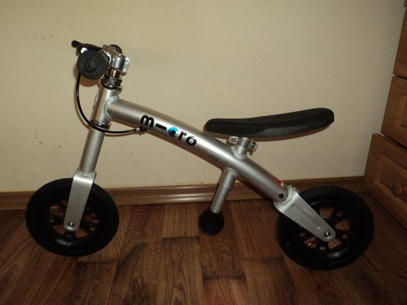 Детско колело, Micro G+Bike+ Light+Silver
