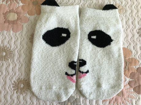 Пухени чорапи на панда