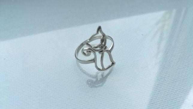 Inel argint colectie pisică cadou accesoriu dama