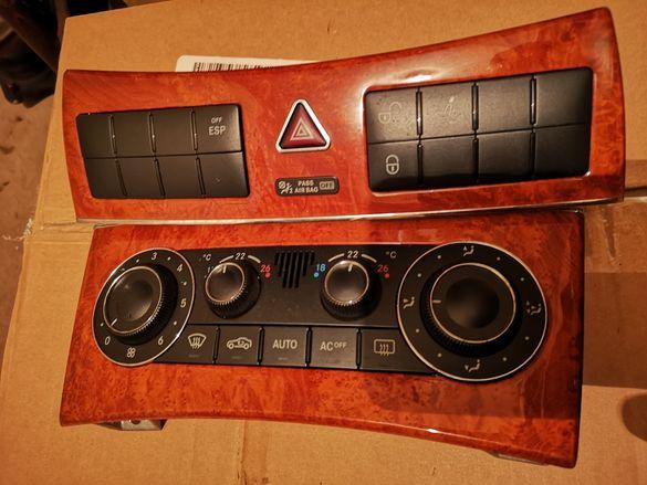 Панел климатроник, Пепелник, ключ светлини Mercedes CLK W209