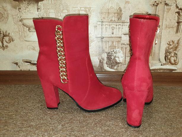 Сапоги демисезонные, ботинки зимние