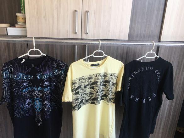 Тениски на известните марки Guess ,G-star,ferre,Superdry,Repley.XL,L