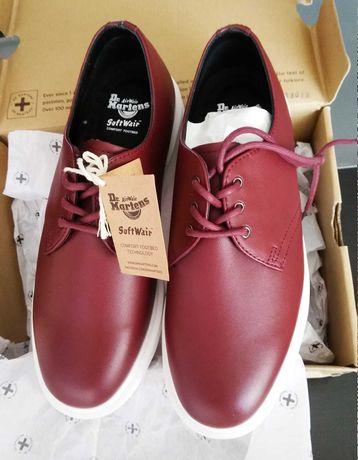 Dr. Martens Torriano Cherry Red кожени обувки номер 39, нови с кутия