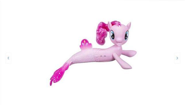 Figurina Sirena Pinkie Pie care inoata