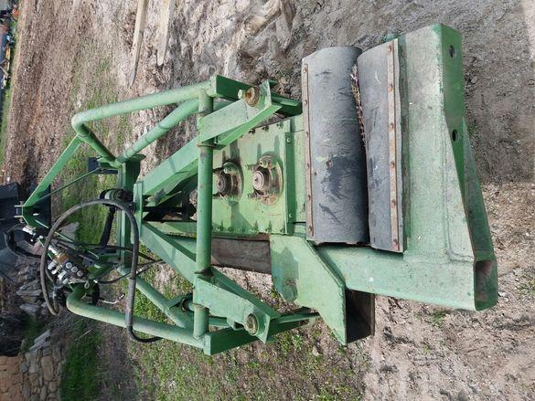 Машина за раздрусване,бране,брулене на овощни дървета