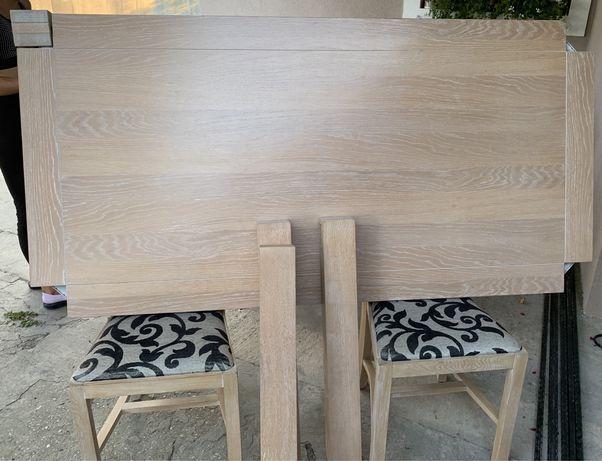 Vând masă cu 6 scaune LUX