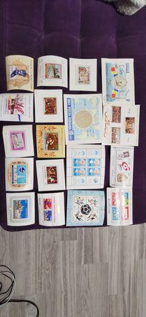Vând schimb colite-timbre, nestampilate, Romania