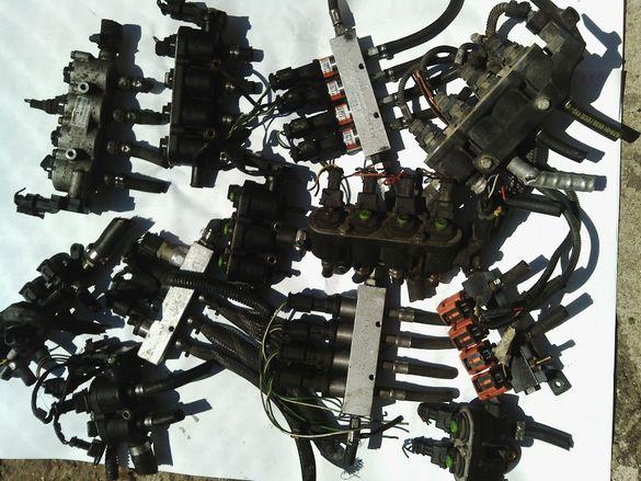 BRC LANDI RENCO идруги марки газови инжектори и оригинални стойки