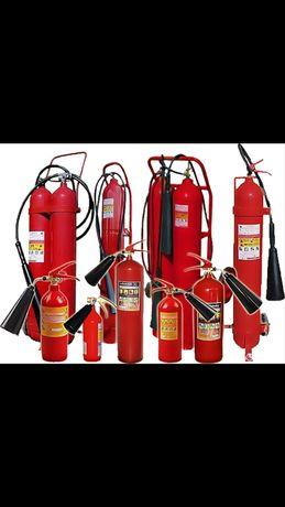 Огнетушители ОП, ОУ, Рукава, ОВП, Шкафы для огнетушителей