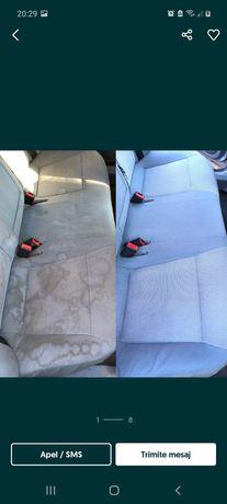 Curatare tapiterie auto canapele scaune