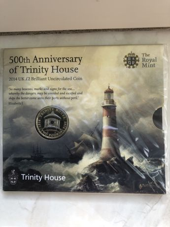 Moneda Aniversara  500th Anniversary of Trinity House