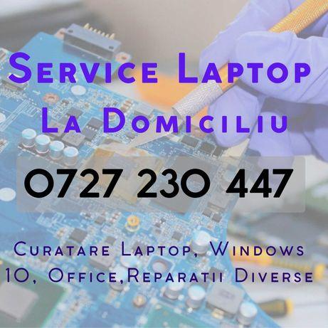 Reparatii Laptop/Curatare Laptop\Windows 10/Service La DOMICILIU
