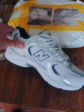 new balance 530 белые кроссовки
