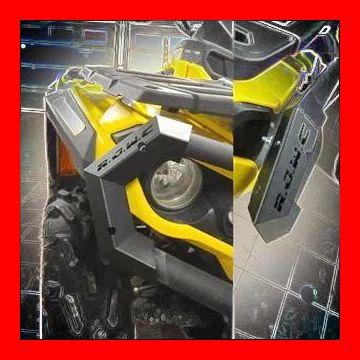 Capace set bumper bara protectie ATV Can Am Outlander RJWC metal