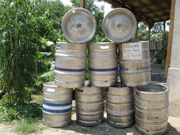 butoaie bere inox cu filet (keg-uri) pt.hidrofoare vin,tuica etc.