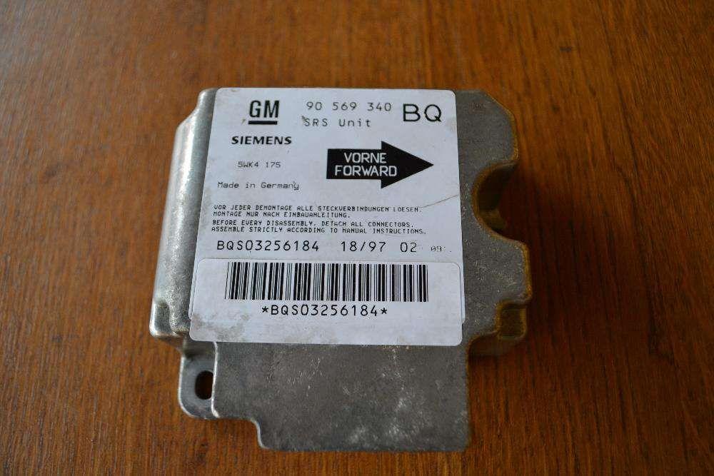 calculator airbag opel vectra B