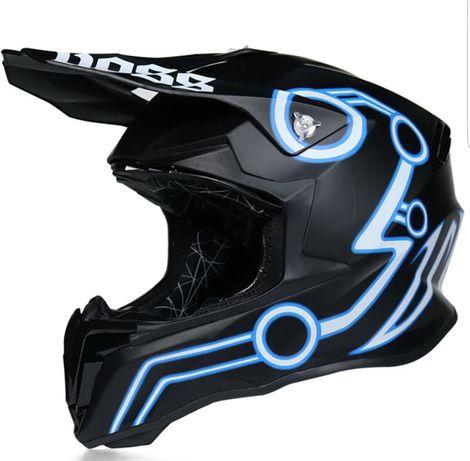 Casca enduro, motocross, ATV, quad, downhill, ktm