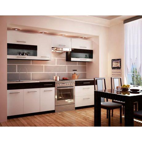 Mobilier de bucătărie, albwenge, JURA NEW B ZS 2,6m