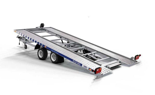 Trailer Auto 2700 kg Lorries 550x210 cm uz Profesional cu Basculare