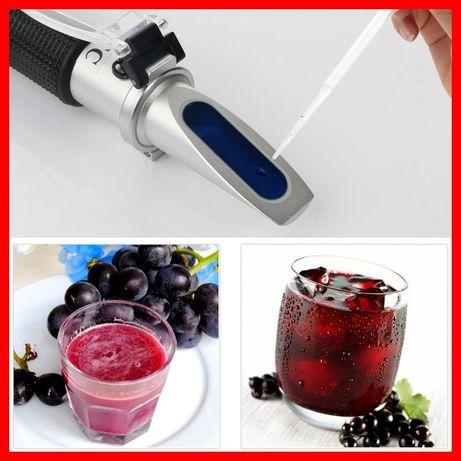 Refractometru (mustimetru),pt masurarea procentului de zahar si alcool