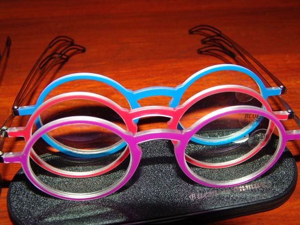 Диоптрични очила стилThinoptics много тънки стилни 3 цвята УНИСЕКС
