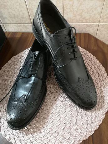 Pantofi piele Giancarlo Nori mărimea 45 Made în Italia noi