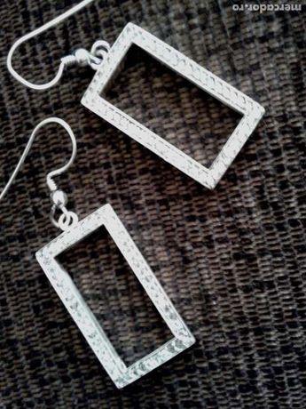 Cercei argint 925 cu pietre de zirconiu, superbi - noi!