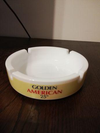Scrumieră Golden American 25's import USA anii '80 diametru 15 cm.