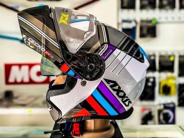 CASCA Moto Axxis Flip-Up Gecko